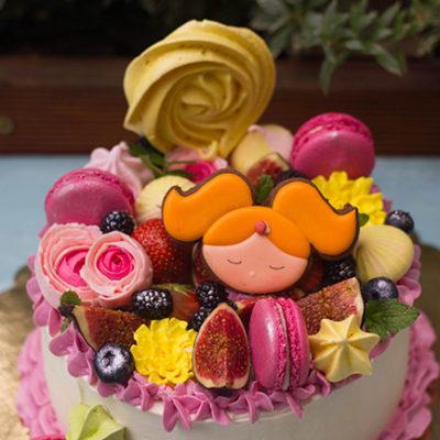 Narozeninový dort pro slečnu