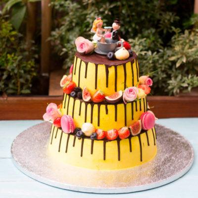 Svatební dort «Veselý a Barevný»