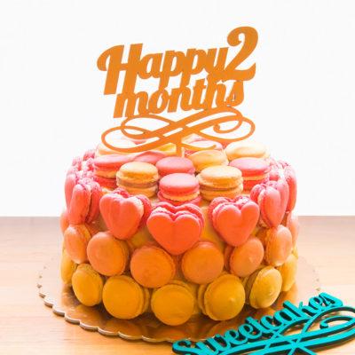 Dětský narozeninový dort «Happy»