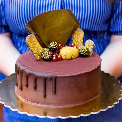 Extra čokoládový dort (6)