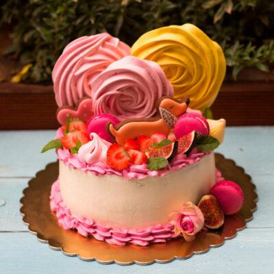 Narozeninový dětský dort «Holčička»
