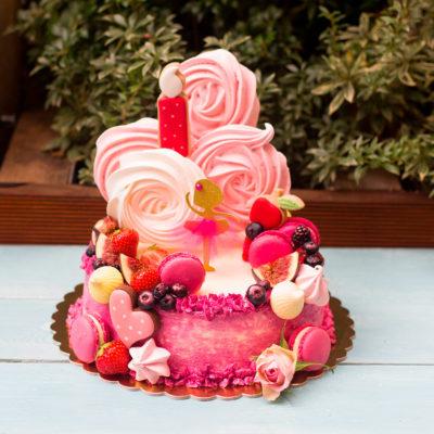 Narozeninový dětský dort «Baletka»