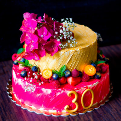 Narozeninový dort «Kulatý datum»