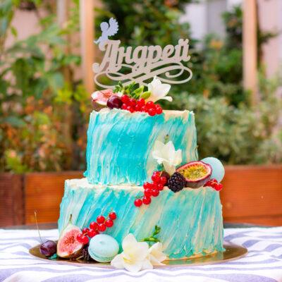 Svatební dort «Lehkost a něha»