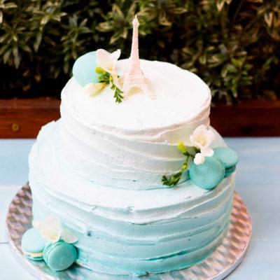Svatební dort «French style»
