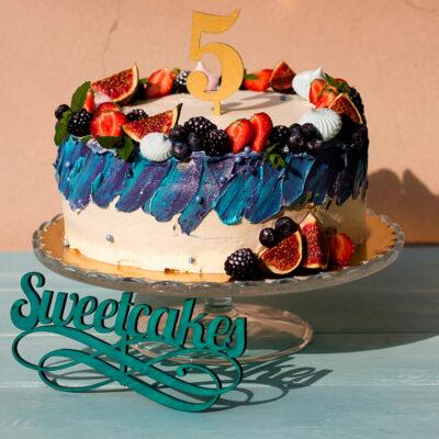 Narozeninový dort pro muže «55»