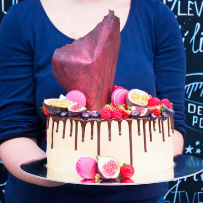 Extra čokoládový narozeninový dort (7)