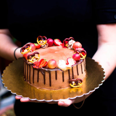 čokoládový narozeninový dort «Čokoška»