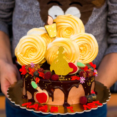 Narozeninový dětský dort «Zlatá Princezna»