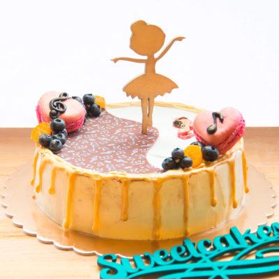 Dětský narozeninový dort «Ballerina»