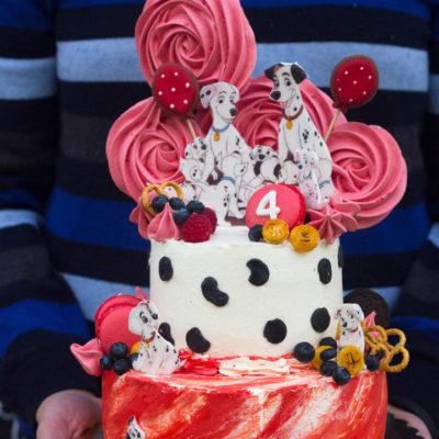 Narozeninový dětský dort «101 Dalmatin»