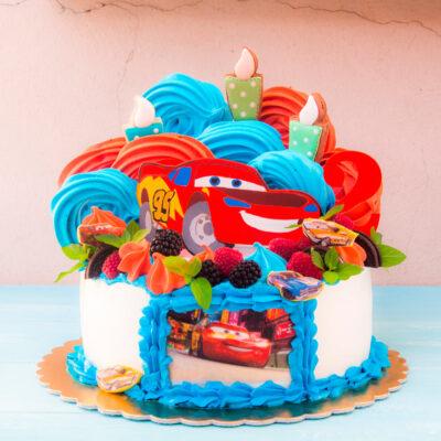 Dětský narozeninový dort «Autíčko»