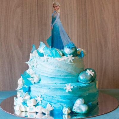Dětský narozeninový dort «Frozen» (2)