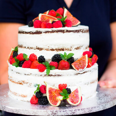 Svatební dort «Naked Cake»