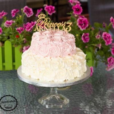Narozeninový dort «Princess»