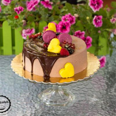 Narozeninový čokoládový dort pro kluka (1)