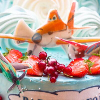 Narozeninový dort «Letadla»