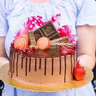 Extra čokoládový dort (2)