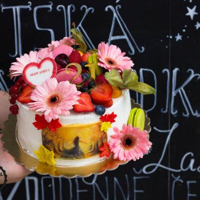Narozeninový dort «21»