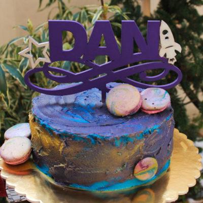 Dětský dort na narozeniny «Dan»