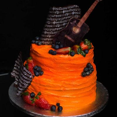 Dort na narozeniny «Kytara»
