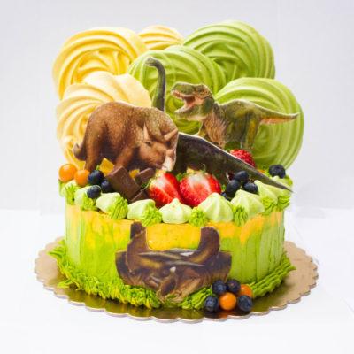 Dětský dort na narozeniny «Dino» (2)