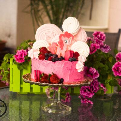 Dětský dort na narozeniny «Pony»