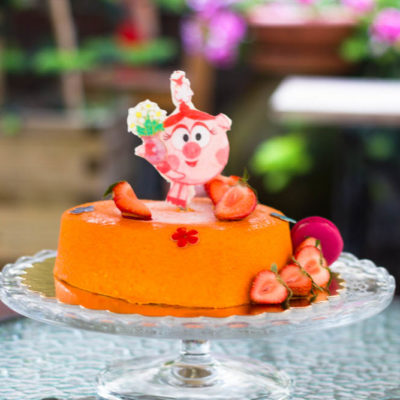 Dětský dort na narozeniny «Pěnový» (1)