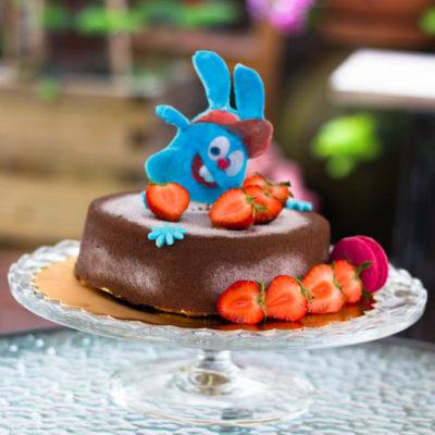 Dětský dort na narozeniny «Pěnový» (2)