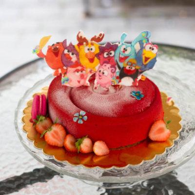Dětský dort na narozeniny «Pěnový» (3)