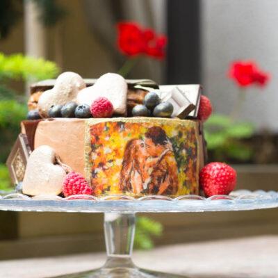 Extra čokoládový narozeninový dort «Star»