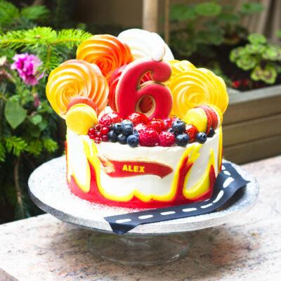 Dětský narozeninový dort «Alex»