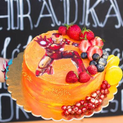 Narozeninový dort «Iron Man»