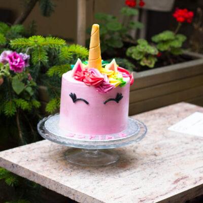 Dětský dort na narozeniny «Jednorožec» (2)