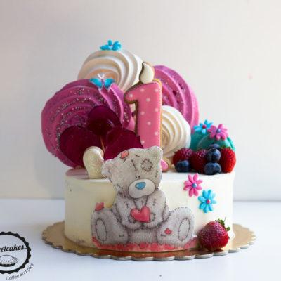 Dětský dort na narozeniny «Teddy Bear» (2)