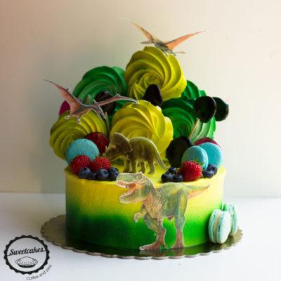 Dětský dort na narozeniny «Jurassic Park»