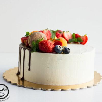 Ovocný dort «Red Velvet»