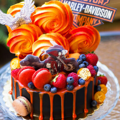 Narozeninový dort «Harley»