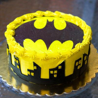 Dětský dort na narozeniny «Batman»
