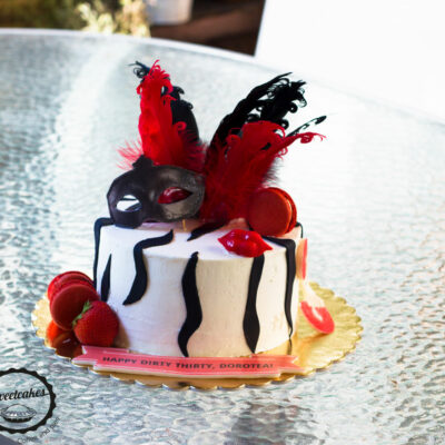 Narozeninový dort «Burlesque»