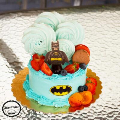 Dětský dort na narozeniny «Lego Batman»