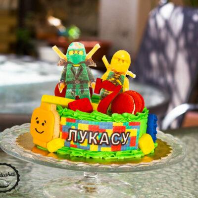 Dětský dort na narozeniny «Ninjago»