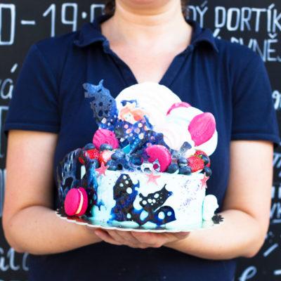 Dětský dort na narozeniny «Ariel» (2)