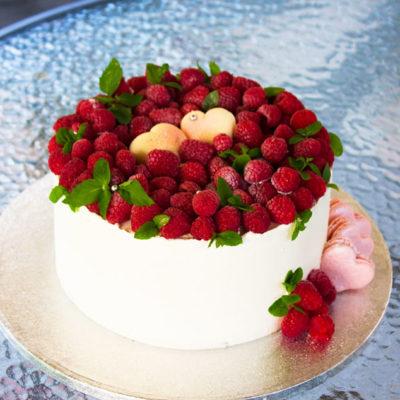 Svatební dort «Srdce»