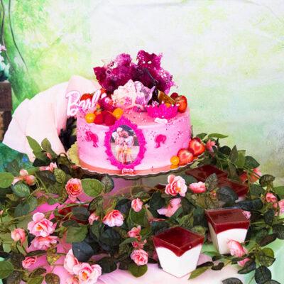 Dětský dort na narozeniny «Barbie»