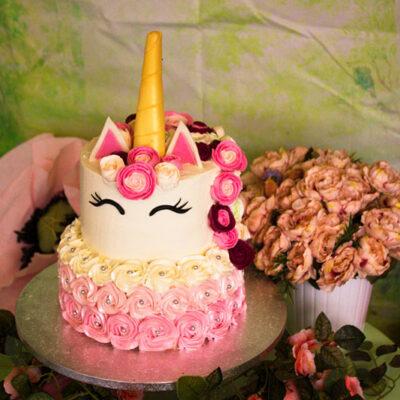 Dětský dort na narozeniny «Jednorožec»  (3)