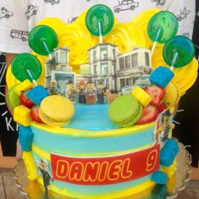Dětský dort na narozeniny «Lego Police»