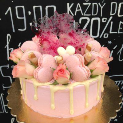 Narozeninový dort «Rose»