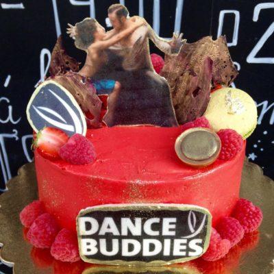 Narozeninový dort «Tanec»