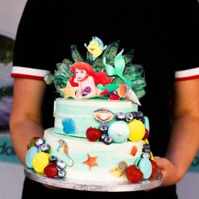 Dětský narozeninový dort «Ariel»